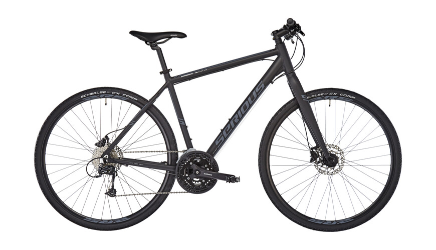 Serious Sonoran Hybrid Bike Hybrid black